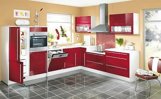 sample l shaped kitchen design afreakatheart. Black Bedroom Furniture Sets. Home Design Ideas
